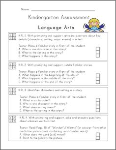 Common Core Assessment Packet {Freebies}