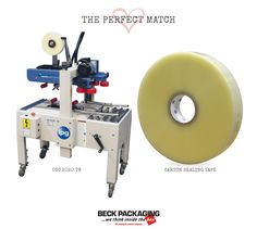 Tape machines provide on-demand carton sealing protection for shipments all shapes and sizes. Call us today to find your perfect match with one of our packaging experts! 1.800.722.2325 http://www.beckpackaging.com/ #BeckPackaging #BeckSolutions #MachineMatchmakers