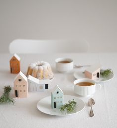 Tischdekoration im Advent | la mesa wohnaccessoires