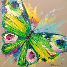 Butterfly oil painting on canvas Butterfly nature insect colorful oil impressionism Art Prints, Abstract Oil, Cute Paintings, Art Painting, Oil Painting Background, Oil Painting Nature, Oil Painting On Canvas, Canvas Art, Canvas Painting