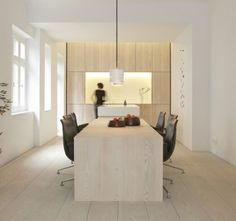 Private house with Dinesen Douglas floor, table and cladding.