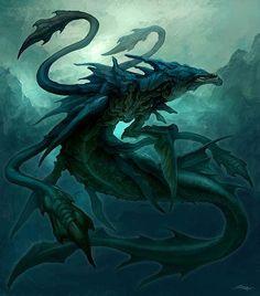 Fantasy water creatures - photo#17