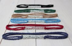 Items similar to Choker Necklaces / Navy Blue Choker / Black Choker / Red Choker / Brown Choker / Green Choker / Blue Choker on Etsy Choker Necklaces, Chokers, Blue Choker, Handcrafted Jewelry, Unique Jewelry, 2016 Trends, Trendy Style, Tube, Navy Blue