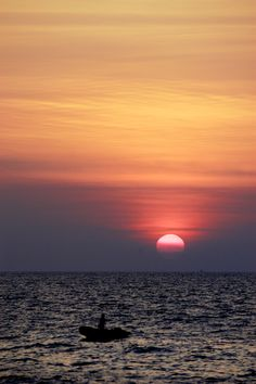 Sunset, Thailand