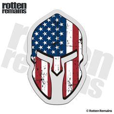 Subdued Flag Spartan Helmet Sticker Military Gun USA American - Motorcycle helmet decals militarysubdued american flag sticker military tactical usa helmet decal