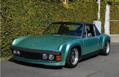Information, history and pictures on this one of a kind Glockler Porsche GT currently for sale Porsche 914, Porsche Club, Porsche Classic, Classic Cars, Lamborghini, Ferrari, Porsche Sports Car, Volkswagen, Porsche Design