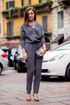 Fashion Week Streetstyle Milan