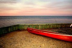 Old Fashioned Sunset Barnegat Bay