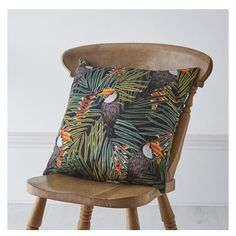 New products up on the website! Link in bio #textiles #homedecor #inspiration #homeinspo #homefurnishings #cushion #toucan #tropical #design #designer #surfacedesign