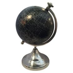 Image of Black And Silver Globe