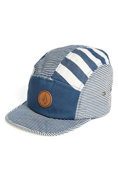 Volcom Mixed Stripe Snapback Cap (Big Boys) | Nordstrom