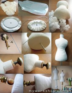 Мини-манекен (МК) On these wonderful dress forms, will be a beautiful way to display Hankies dresses!