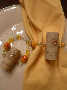 Here Comes the Sun Napkin Rings