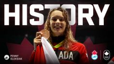 Sprinting the 100 metre freestyle to take Olympic gold, Penny Oleksiak entered historic territory winning her second individual – and fourth...