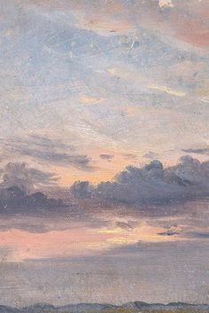 A Cloud Study, Sunset by John Constable, c. 1821 (detail) A Cloud Study, Sunset by John Constable, c. Aesthetic Pastel Wallpaper, Aesthetic Backgrounds, Aesthetic Wallpapers, Renaissance Kunst, Aesthetic Painting, Sky Painting, Sky Aesthetic, Artist Aesthetic, Pretty Wallpapers