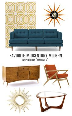 3b77665b130750 Living Creatively  Our Favorite Mad Men Inspired Home Decor