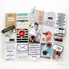 Janette Lane: First Outgoing Pocket Letters