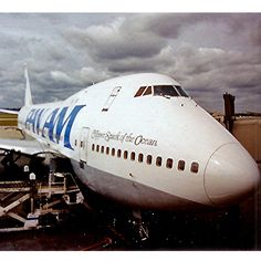 Clipper Spark of the Ocean, a Boeing 747, delivered to Pan Am in 1970.