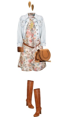 """""""Casual Flora"""" by angela-windsor on Polyvore"""