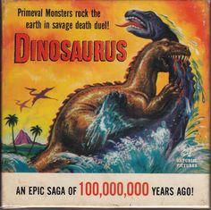 Dinosaurus in format Monster Rocks, Super 8 Film, Republic Pictures, Movie Reels, Movies Box, Cool Monsters, Sci Fi Films, Lost Art, Silent Film