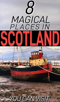 Must-see places in Scotland for you to check out. These 8 magical places in Scotland are definitely worth seeing on your next Scotland trip. Scotland Vacation, Scotland Trip, Scotland Travel, Visiting Scotland, Scotland Tours, Edinburgh Scotland, Ireland Travel, Beautiful Places To Visit, Great Places