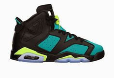 THE SNEAKER ADDICT: Air Jordan 6 Brazil GS Sneaker Available (Detailed...