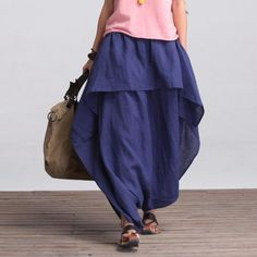 7c06ffb705 Casual Loose Fitting (R)Comfortable and casual harem pants- Women Clothing  (QK002)