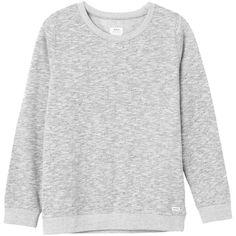 RVCA Criton Crew Sweatshirt ($38) ❤ liked on Polyvore featuring tops, hoodies, sweatshirts, sweaters, crew neck top, rvca tops, rvca, crewneck sweatshirt and wine tops
