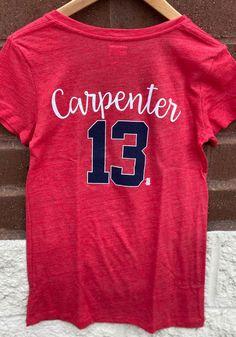 Matt Carpenter St Louis Cardinals Womens Grey Tri-Blend Player T-Shirt - 88882148 Cardinals Players, Stl Cardinals, St Louis Cardinals, Team Names, Great Books, Carpenter, Grey, T Shirt, Shopping