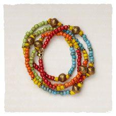 Reggae Wrap Bracelet             $115.00