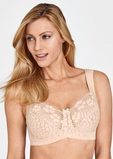 97d3be5d0ebe4 Lovely Jacquard and Lace Soft Cup bra  51.99 Soft cup bra in exclusive  Jacquard with elastic