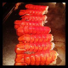 Lobsters #benihana #foodporn #joescrabshack