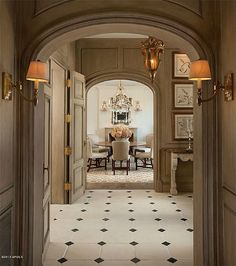 Old World, Gothic, and Victorian Interior Design: Victorian Gothic interior style Gothic Interior, French Interior, Classic Interior, Interior Styling, Interior Decorating, Interior Design, Masonry Construction, Home Modern, My Dream Home