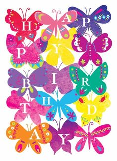 Faye Buckingham - Colourful Butterflies