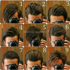 Perfect hair styles for every men I will like 7th one...:)