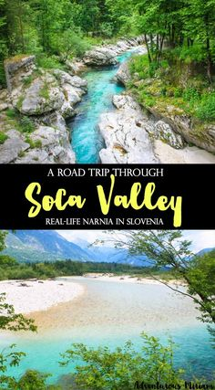 Soca Valley: A road trip through the real-life Narnia - Soča Valley is an adventurer's wonderland. Wonderland, because it has anything an active travele - Narnia, Rafting, Places To Travel, Travel Destinations, Places To Visit, Road Trip, Slovenia Travel, Voyage Europe, Paragliding