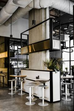 Melbourne designers take hungry day-diners to infinity and beyond at a stellar new Hawthorn East eatery...