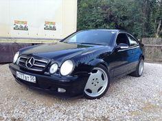 Mercedes-Benz CLK-klasse I (W208) 320 2000 года, пробег 250 000 км, двигатель 320 3.2 AT (218 л.с.), цвет чёрный за 450 000 рублей. Mercedes Clk, Car Tuning, Old London, Super Cars, Whale, Vehicles, Muscle, Autos, Whales