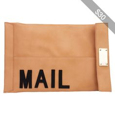 AKIRA You've Got Mail Clutch in Beige