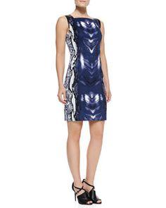 17047b2aa0bf Designer Dresses at Neiman Marcus. Elie Tahari DressesBlack And Blue DressSnake  Print ...