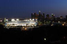 The most beautiful city in the world! #LosAngeles #DodgerStadium