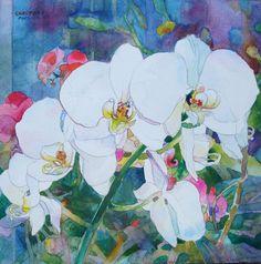 Watercolor by Jean Grastorf http://www.jeangrastorf.com
