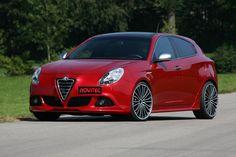 Alfa Romeo Giulietta 2011...our car in Italy!