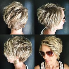 "29 Likes, 3 Comments - Sara Toonstra (@hairby_saratoonstra) on Instagram: ""Pixie #pixie360"""