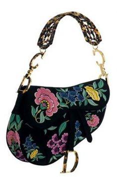 "Limited Edition ""Spain"" Saddle Bag ~Dior"
