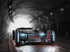 This Rolls Royce Concept Car Features Improved Maneuverability #Cars #Automobiles