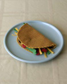 Activities: Felt Food Taco