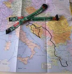 Diario di viaggio Balcani Europa Express, Map, Greece, Diary Book, Location Map, Maps