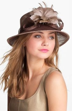 Brown/taupe hat