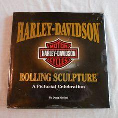 Harley-Davidson Rolling Sculpture Book by Doug Mitchel A Pictorial Celebration #Harley #Harley-Davidson